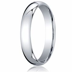 4MM Classic Domed 10K White Gold Comfort Fit Wedding Band Unisex. Price starts at $194.99. Price increase for sizes 8+. Engraving is available for this ring. Find out more at Ring-Ninja.com!   #goldrings #ringninja #whitegold #realgold #affordablerings #domedring #engravablerings #comfortfit