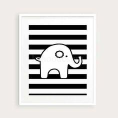 Elephant Nursery 11x14 baby elephant    art nursery by kshoodesign, $28.00