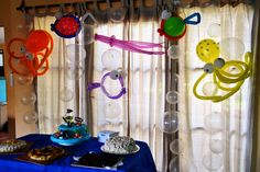 "Fiesta temática ""fondo del mar""  balloons globos"