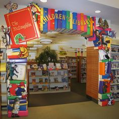 """Library design sent to us from Ms. Hopkins! """"children's library design - Google Search"""