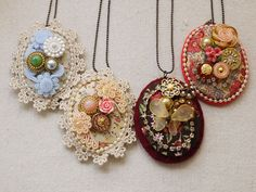 Fabric Cameos by Miss Ireen Tan