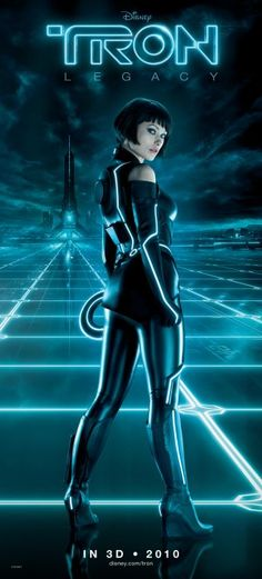 TRON: Legacy (2010) movie poster (US)