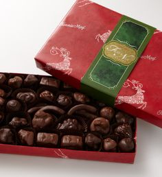 #FMChocolates Holiday Fruit & Caramel Assortments $24.99