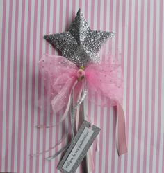 Will you be my Godmother Pink Wand by paulawellsstudio on Etsy
