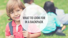 Backpacks are a staple for every student. They travel back and forth between home and school, lugging books and school supplies. Kids Health, School Supplies, That Look, Student, Backpacks, Books, Travel, Children Health, School Stuff