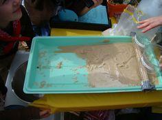 gullywasher rain/flood erosion experiment