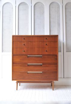 Mid Century High boy dresser by TheLoomHouse on Etsy