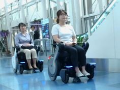 Self-Driving Wheelchairs Debut in Hospitals and Airports  The autonomous vehicles sense positions select routes and stop for obstaclesPhoto: Panasonic  Autonomous vehicles can add a newmember to their ranksthe self-driving wheelchair. This summer two robotic wheelchairs made headlines: one at a Singaporean hospital and another at a Japanese airport.  The Singapore-MIT Alliance for Research and Technology orSMART developed the former firstdeployed in Singapores Changi General Hospital in…