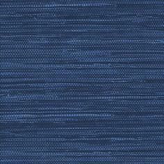 Grasscloth Fabric and Wallpaper in Navy fabric by sparrowsong on Spoonflower - custom fabric