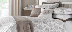 Latte Cha Cha Bedlinen Collection    #dunelm #pinittowinit