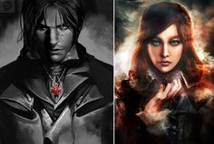 Assassin's Creed Unity Arno and Elise