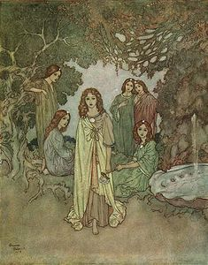 Illustration: Edmund Dulac's Hans Christian Andersen