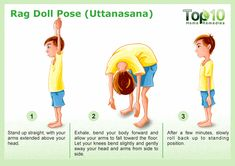 Rag Doll Pose for yoga Uttanasana - 10 Amazing Yoga Poses for Your Kids to Keep Them Fit and Healthy Yoga Poses For Men, Cool Yoga Poses, Yoga Poses For Beginners, Yoga For Men, Learn Yoga, How To Do Yoga, Reiki, Acupuncture For Anxiety, Childrens Yoga