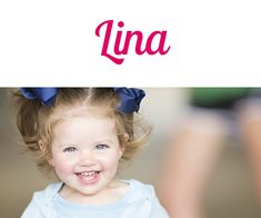 Namensbild von Lina auf vorname.com