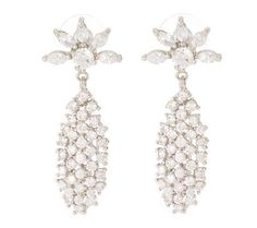 Jacqueline Kennedy Waterfall Earrings Reproduced by Camrose and Kross