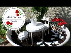 DIY Miniature Garden | Balcony Garden Ideas | by Fluffy Hedgehog - YouTube