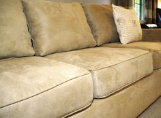 Here's how to make your saggy couch look good as new, for only $10!