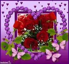 To my dear Joe ❤miss you so much 💕💘, Beautiful Flowers Pictures, Beautiful Flowers Wallpapers, Beautiful Gif, Beautiful Roses, Rose Flower Wallpaper, Flowers Gif, Love Flowers, Heart Wallpaper, Valentine Day Love
