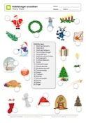 20 Abbildungen zum Advent zuordnen Advent Calendar, Holiday Decor, Free Worksheets, Deutsch, Advent Calenders