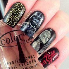 Star Wars nails... Whaaaat?!
