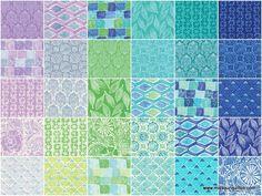 Missouri Star Quilt Co.  Horizon fat quarter bundle by Kate Spain for Moda