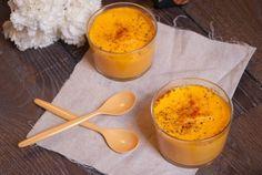 Flans carottes et parmesan