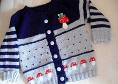 Baby jacket by Weesiner on Etsy