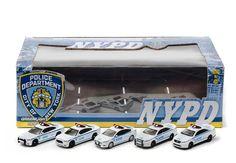5 Car NYPD Diorama – Modelmatic