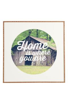 Home is where you are | Wall art