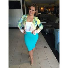 0b65f94c82e9 Chiquis Rivera Pencil Skirt Dress