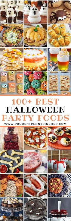 Impress your halloween party guests with these halloween food ideas! There are creepy halloween foods for adults and cute treats for kids. These halloween food ideas include creepy cookies, spooktacular snacks, fright Halloween Desserts, Plat Halloween, Halloween Food For Adults, Fete Halloween, Halloween Dinner, Halloween Goodies, Halloween Cupcakes, Halloween Food For Party, Halloween Birthday