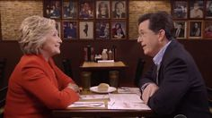 Hillary Clinton Is Teaming Up With Late Night Host Stephen Colbert For A Dramatic Re-Entry Into Late Night Television #DonaldTrump, #HillaryClinton, #StephenColbert, #TheLateShow celebrityinsider.org #Politics #celebrityinsider #celebritynews #celebrities #celebrity