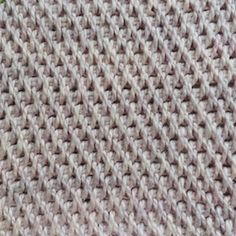 Tunisch 3 - full stitch