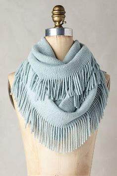 Precious Metal Infinity Scarf  New in November: Favorites Shoes and Accessories