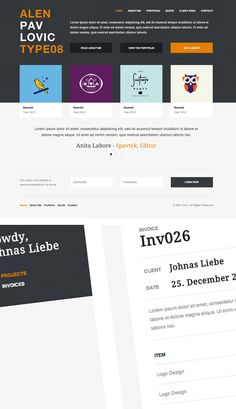 Invo is a new WordPress business theme, designed for busy freelancers juggling multiple jobs and clients.     Most freelancers use several different web apps to manage their business. Maybe Basecamp for project management, FreshBooks for invoices, and HighRise for client relationships.Invo is a new WordPress business theme, designed for busy freelancers juggling multiple jobs and clients.