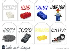 Lego Labels Bin Labels And Legos