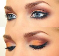 3. Orange & Peach Eyeshadow - teentimes.com - clio