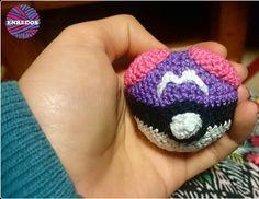 enredos_shop:: Nuestra nueva adquisición para pokemaniacos ! #Masterball #pokeball #pokemon #amigurumi #artesanal #crochet #tienda #encargos #shop #enredosshop #artistic #hand #bola #violeta #algodon