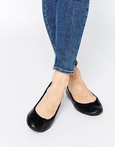 9c5f7b0b89 Image 1 of London Rebel Leather Flat Ballet Flats Cheap Womens Shoes