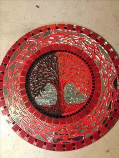 Mirror Art, Dj, Christmas Tree, Symbols, Holiday Decor, Handmade, Ideas, Home Decor, Frames
