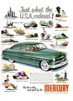 Mercury 1950s