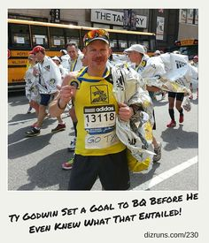 The Boston Marathon has been on Ty Godwin's radar since he started running marathons. Even though he's run the race 5 times now, he continues to train with the hope of BQing and lining up in Hopkinton again and again!