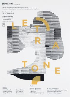 anothergraphic:  01. Letra-Tone FestivalScreen printed...