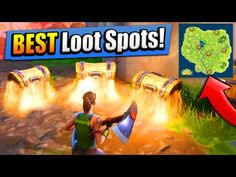 top 6 best loot spots where to find them fortnite battle royale - loot runs fortnite