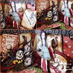 Graphic 45 Magic of OZ mini pop up album 2014