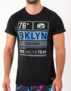 Rise Above Fear Tee www.riseabovefear.com