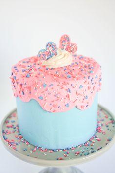 How to Make a Gender Reveal Cake | Erin Gardner | Craftsy