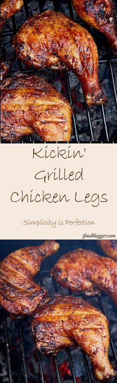 how to cook bbq chicken legs on a charcoal grill