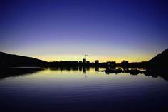 https://flic.kr/p/LT3qNh | The city sleeps | Dusk in Bergen, Norway