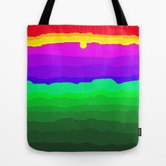 The World is a Rainbow of Color Tote Bag by Rokin Art by RokinRonda - $22.00